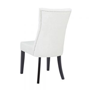 Becky Morgan Ivory Fabric Chair