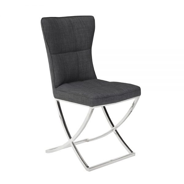 Lana Grey Linen Color Chair