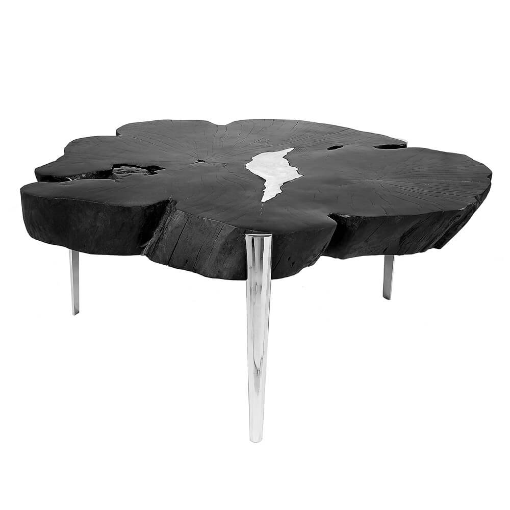Akis Black Coffee Table