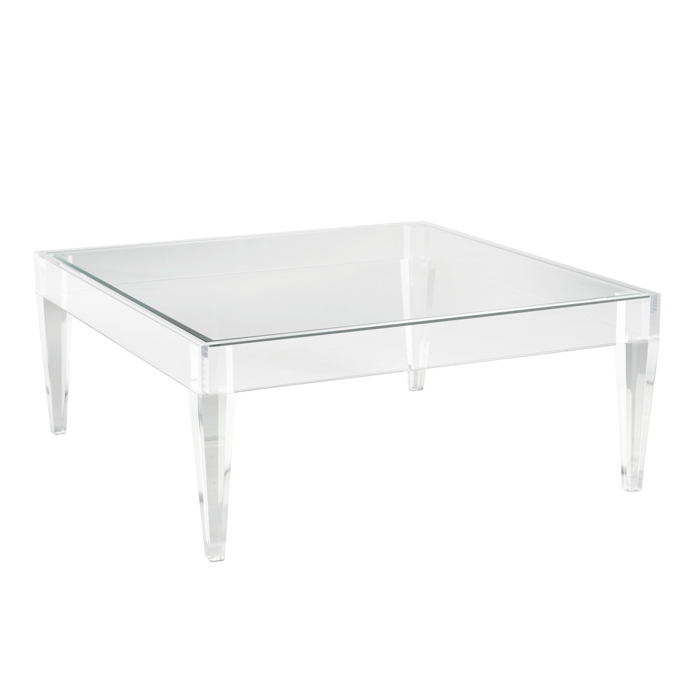 Avalon Acrylic Coffee Table – Square
