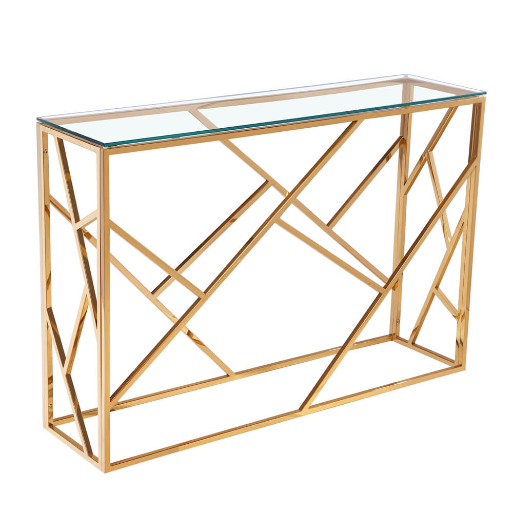 Carole Gold Console Table