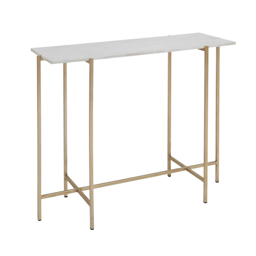 Ida Gold Console Table