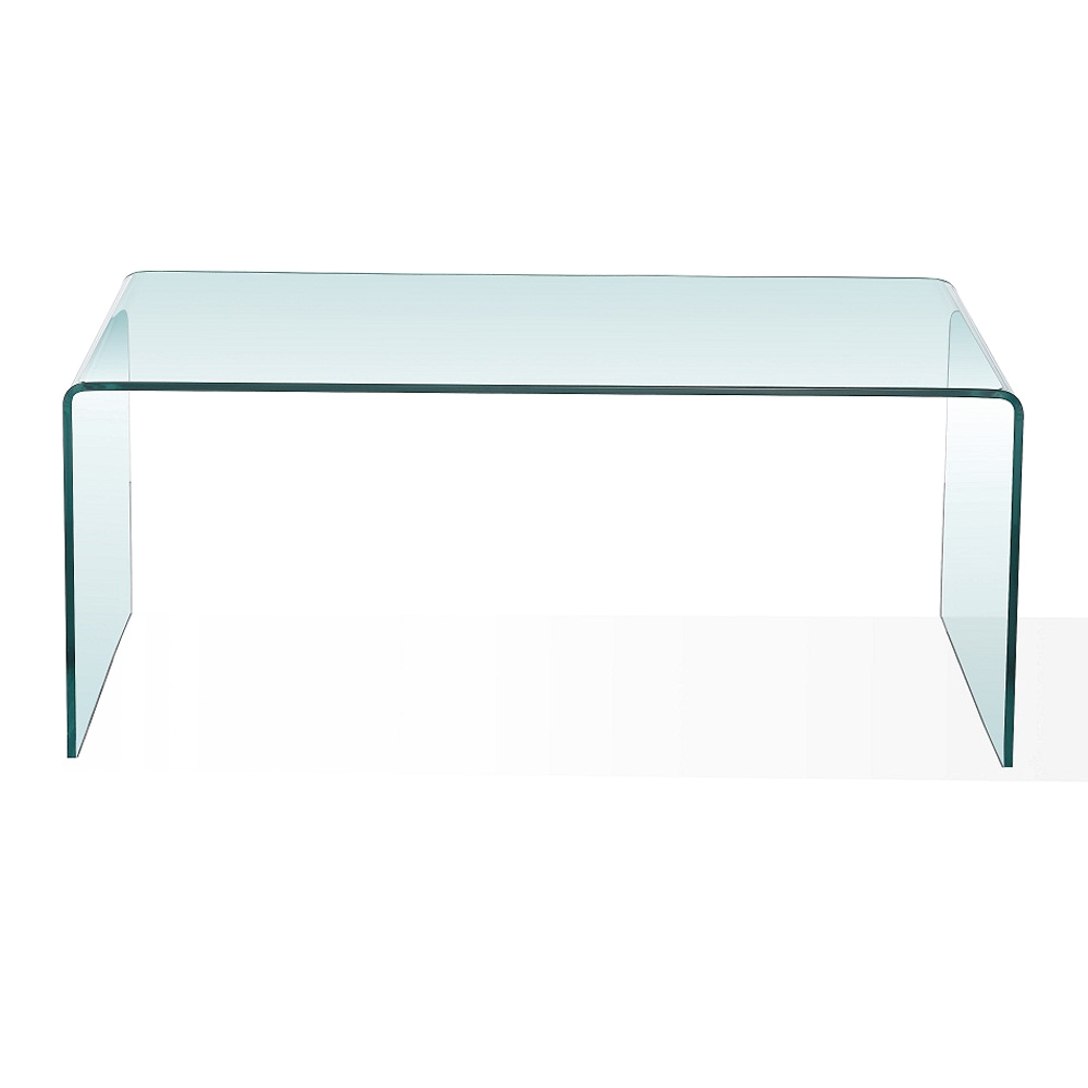 Bent Glass Condo Coffee Table