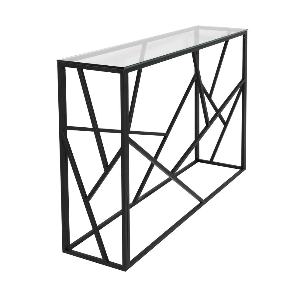 Carole Console Table – Black Frame