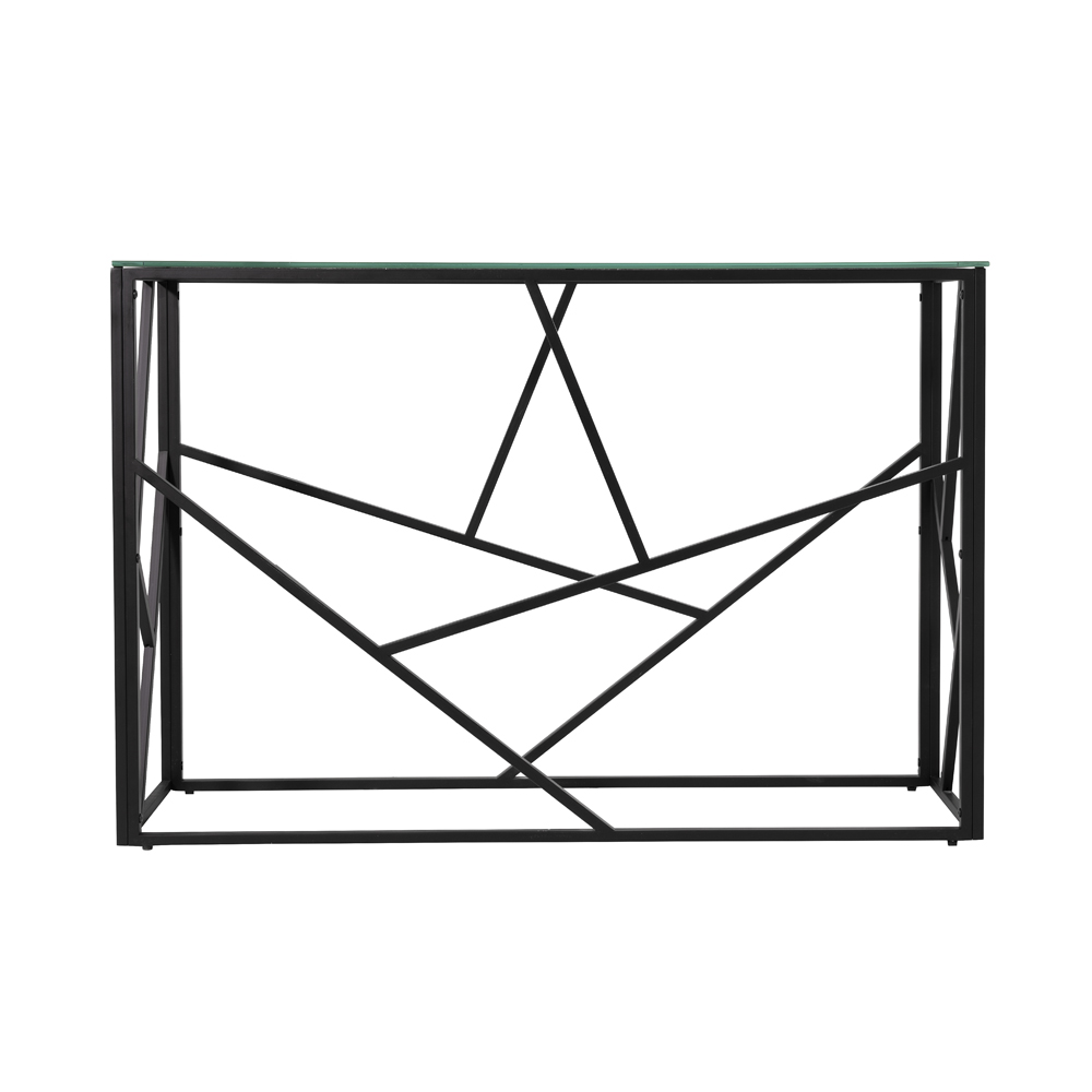 Carole Console Table – Black Frame