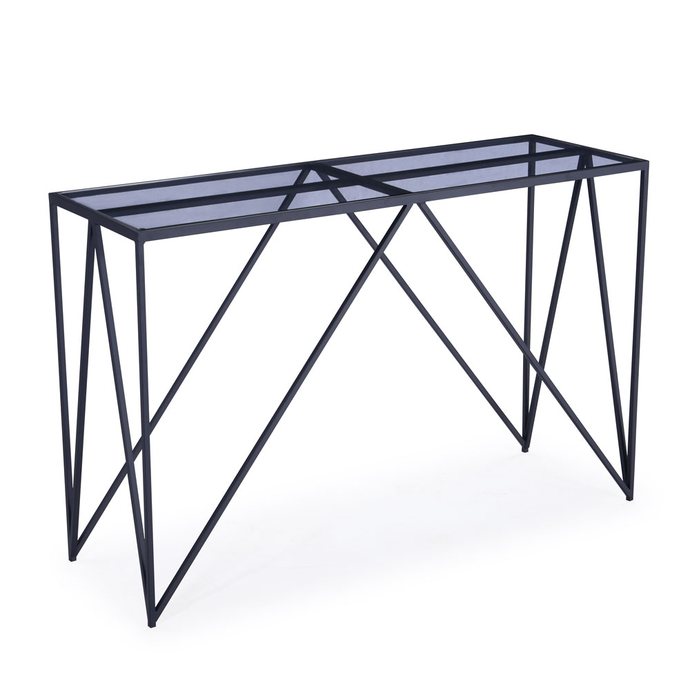 Luxor Black Console Table