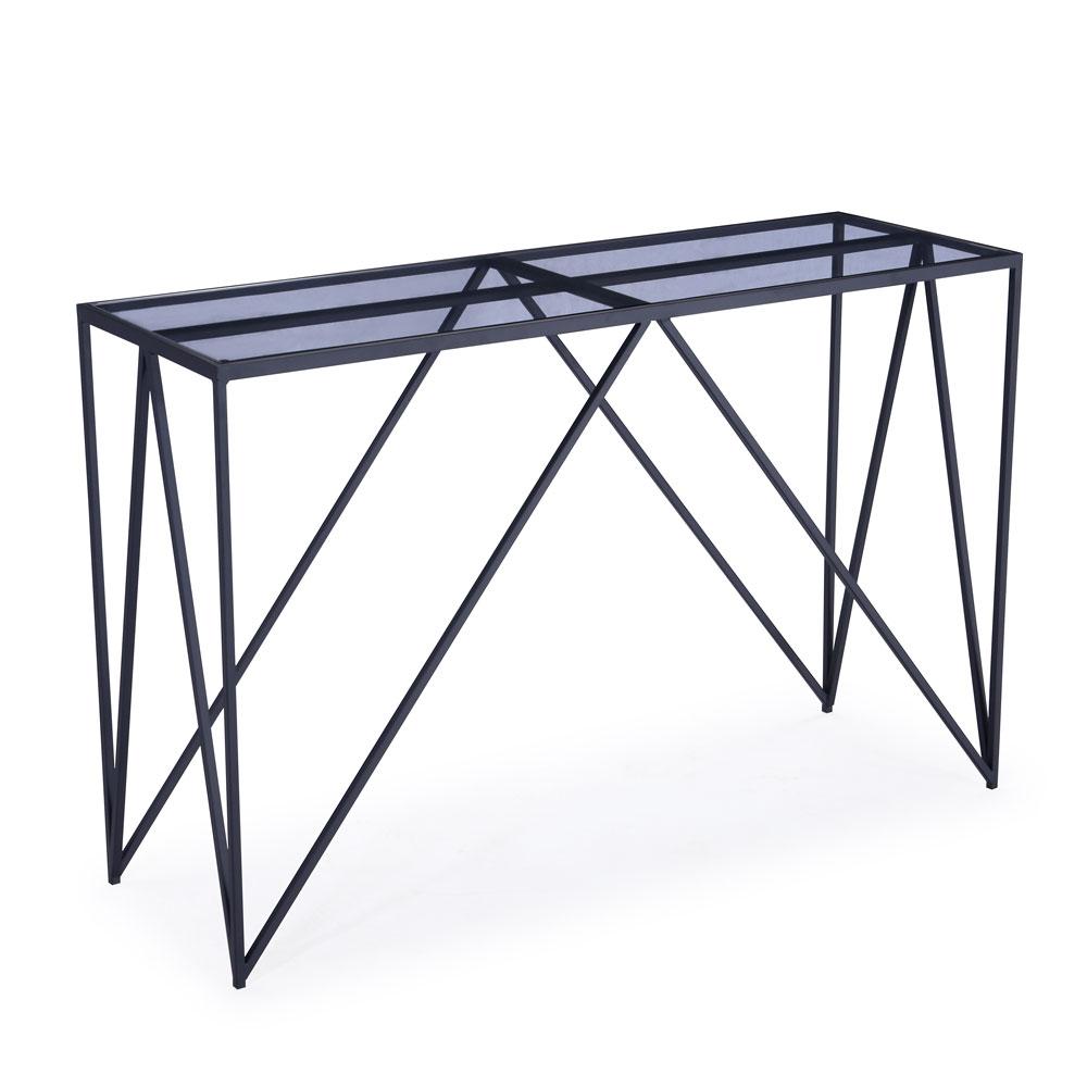 Luxor Black Console Table