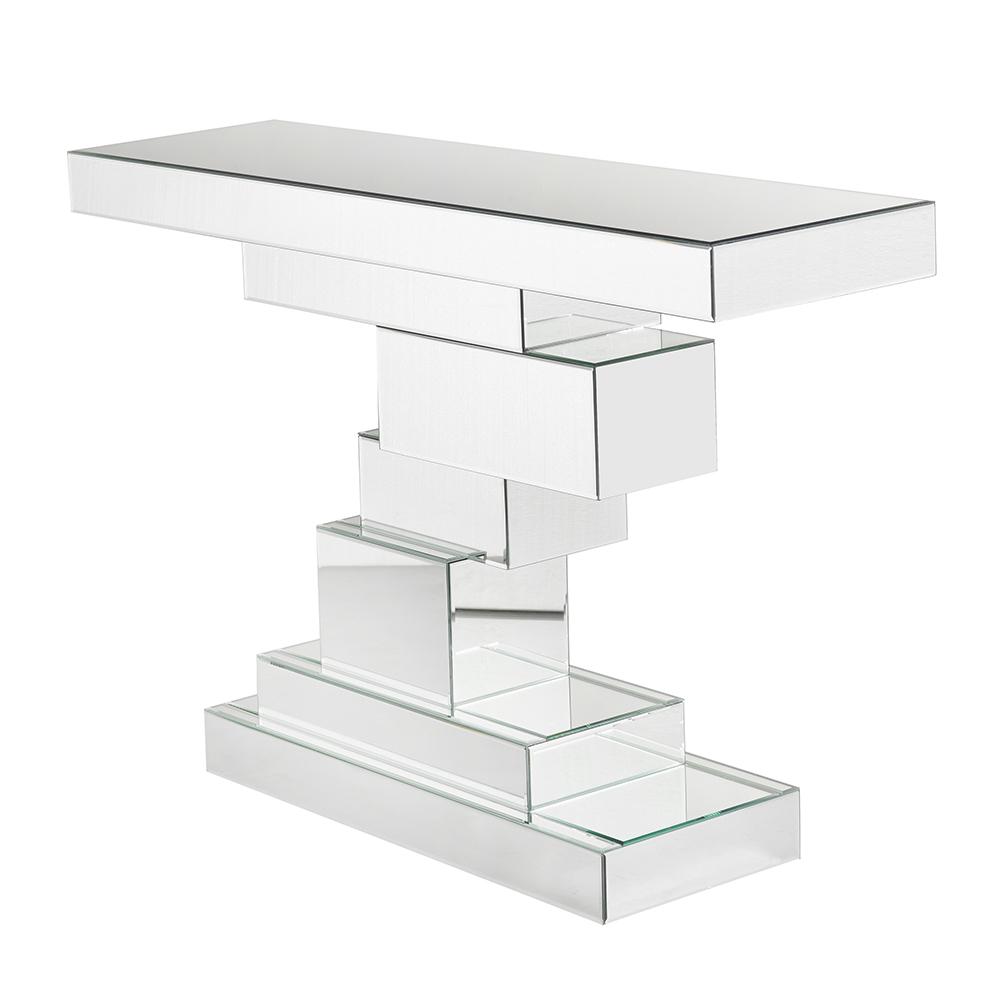 Mirror Console Table (Irregular Base)