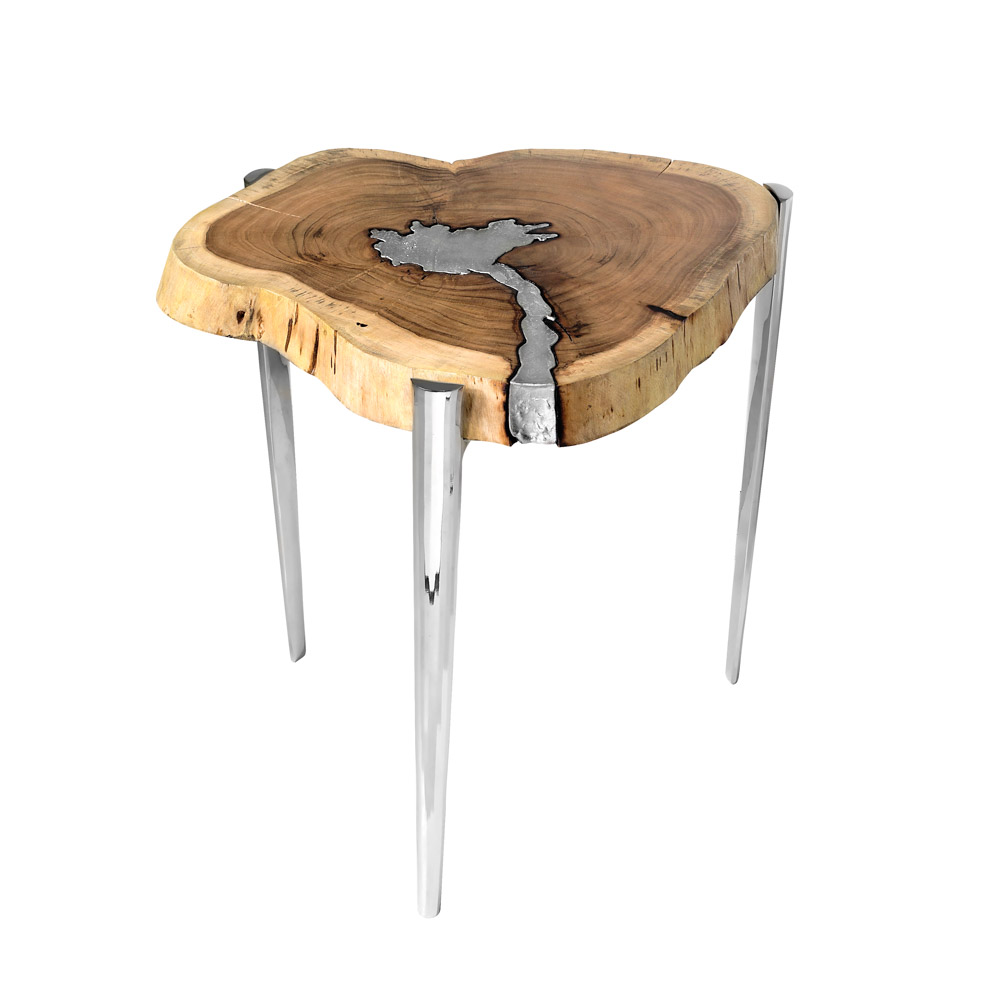 Akis Natural Side Table