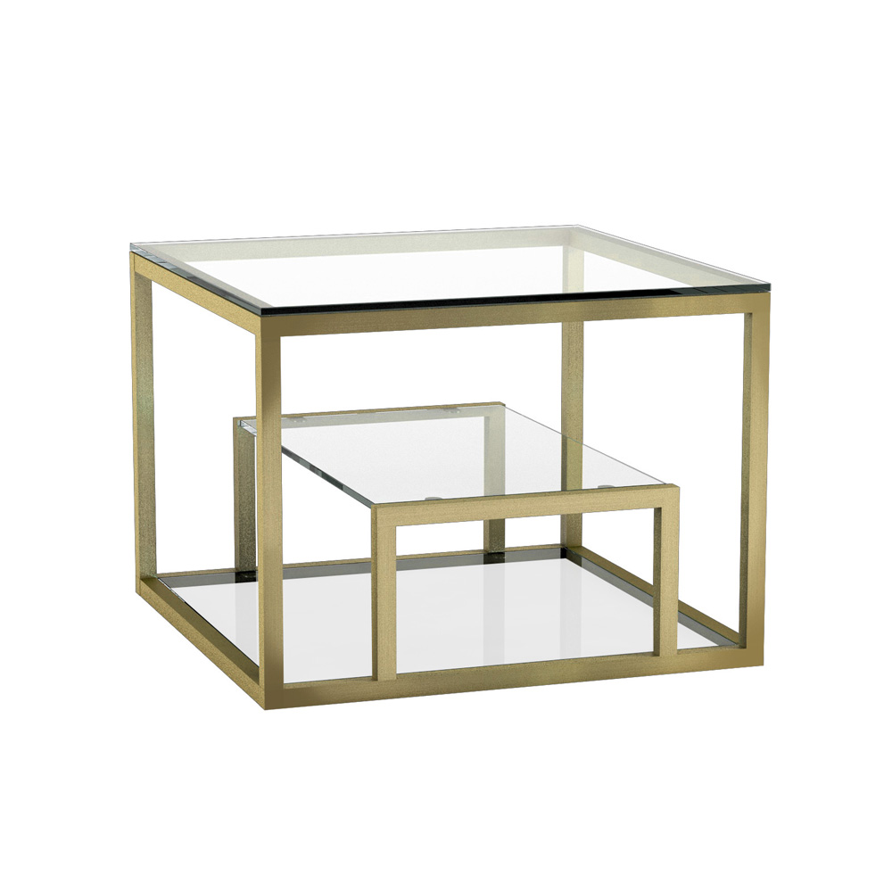 Barolo Gold End Table