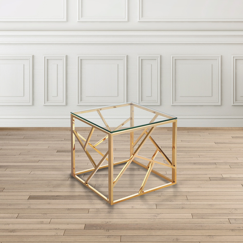 Carole Gold End Table