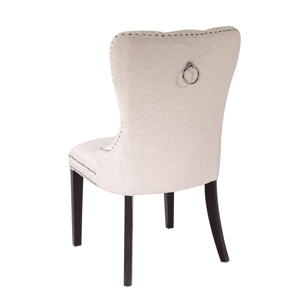 Euphoria Beige Fabric Dining Chair
