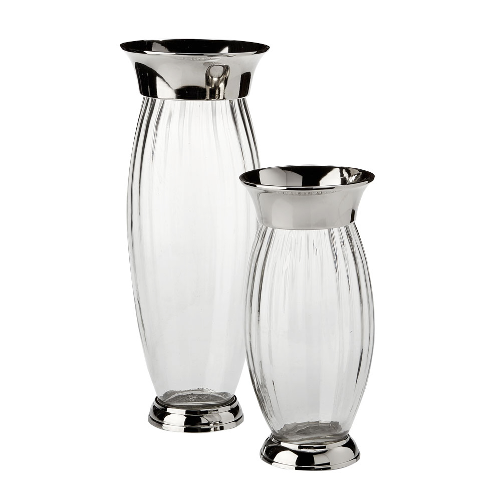 XC-6891/92 Silver Decanters