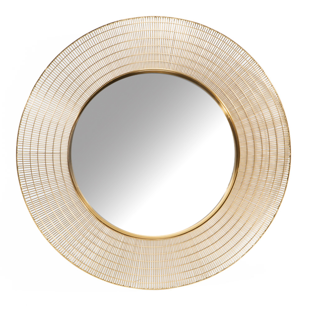 XC-6327-G Gold Wall Mirror