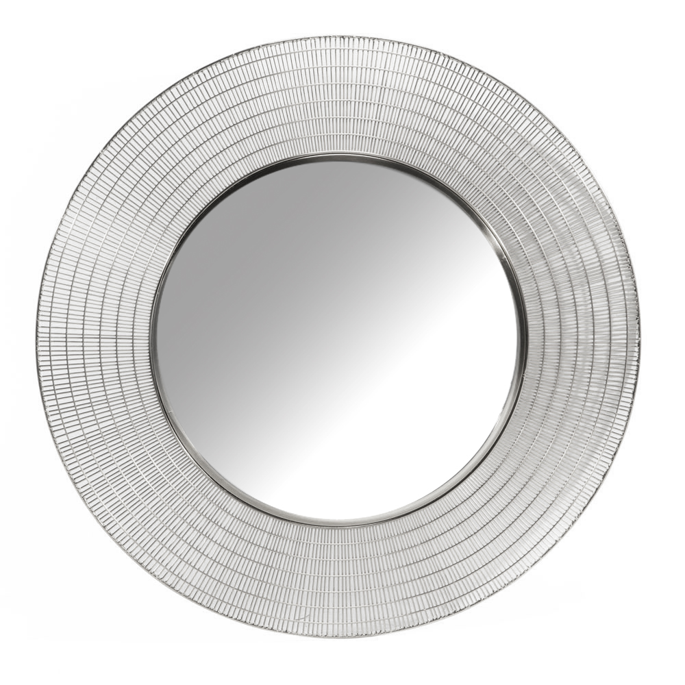 XC-6327-S Silver Wall Mirror