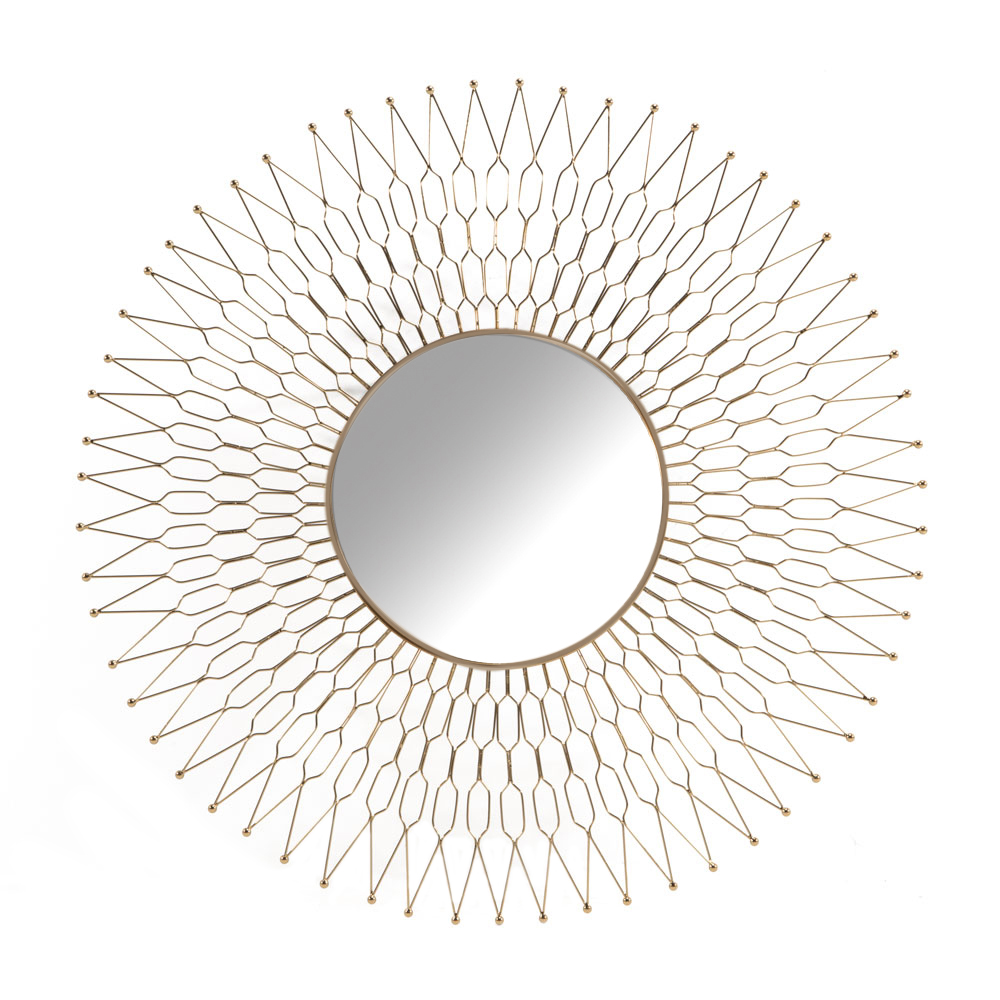XC-6588-G Gold Wall Mirror