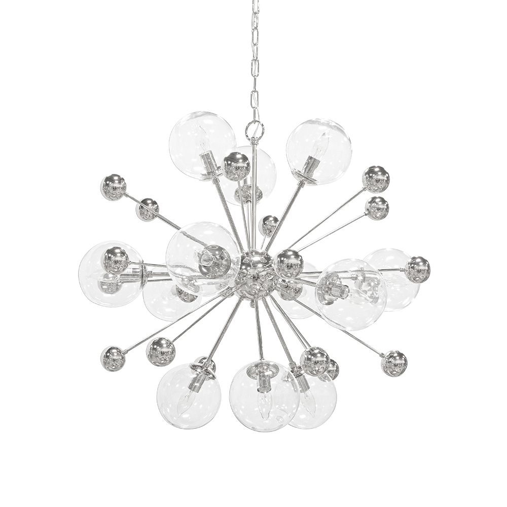 Estella Silver Chandelier