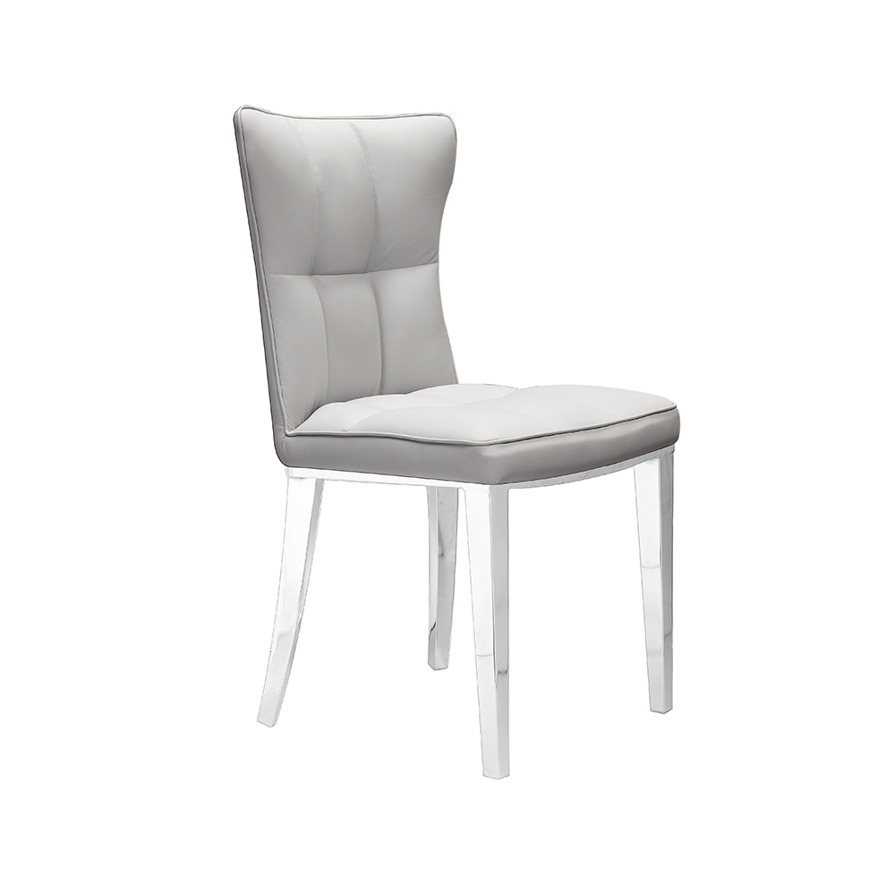 Holden Grey Leatherette Chair
