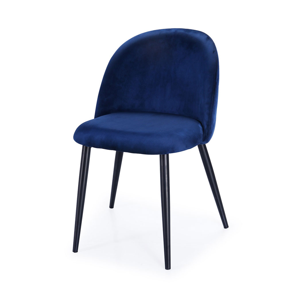 Saphire Blue Ink Color Chair