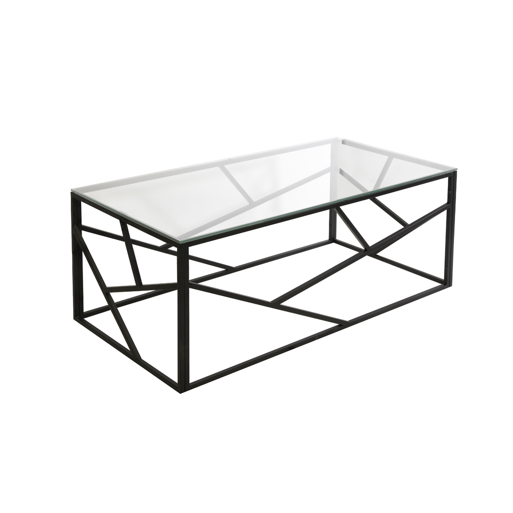 Carole Coffee Table – Black Frame