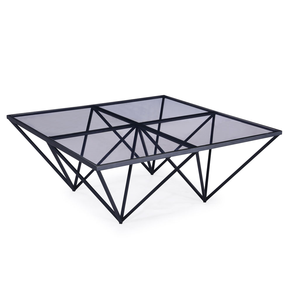 Luxor Black Coffee Table
