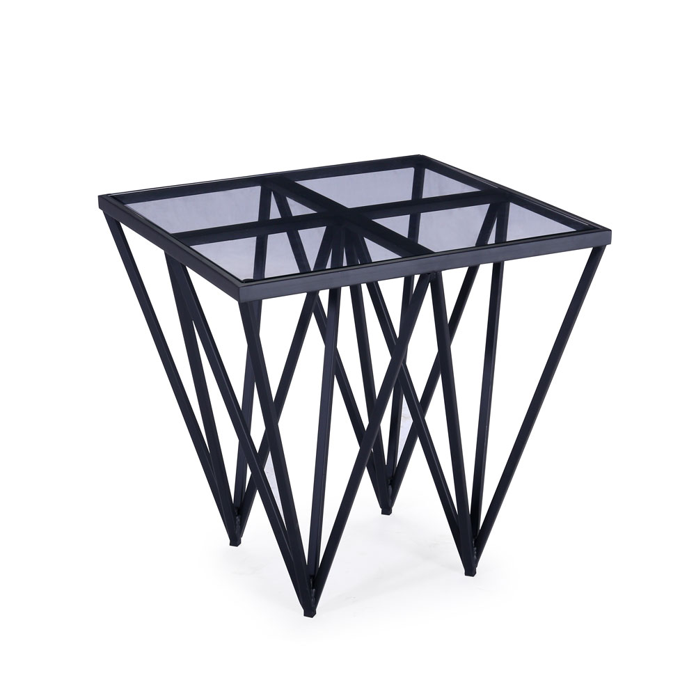 Luxor Black End Table