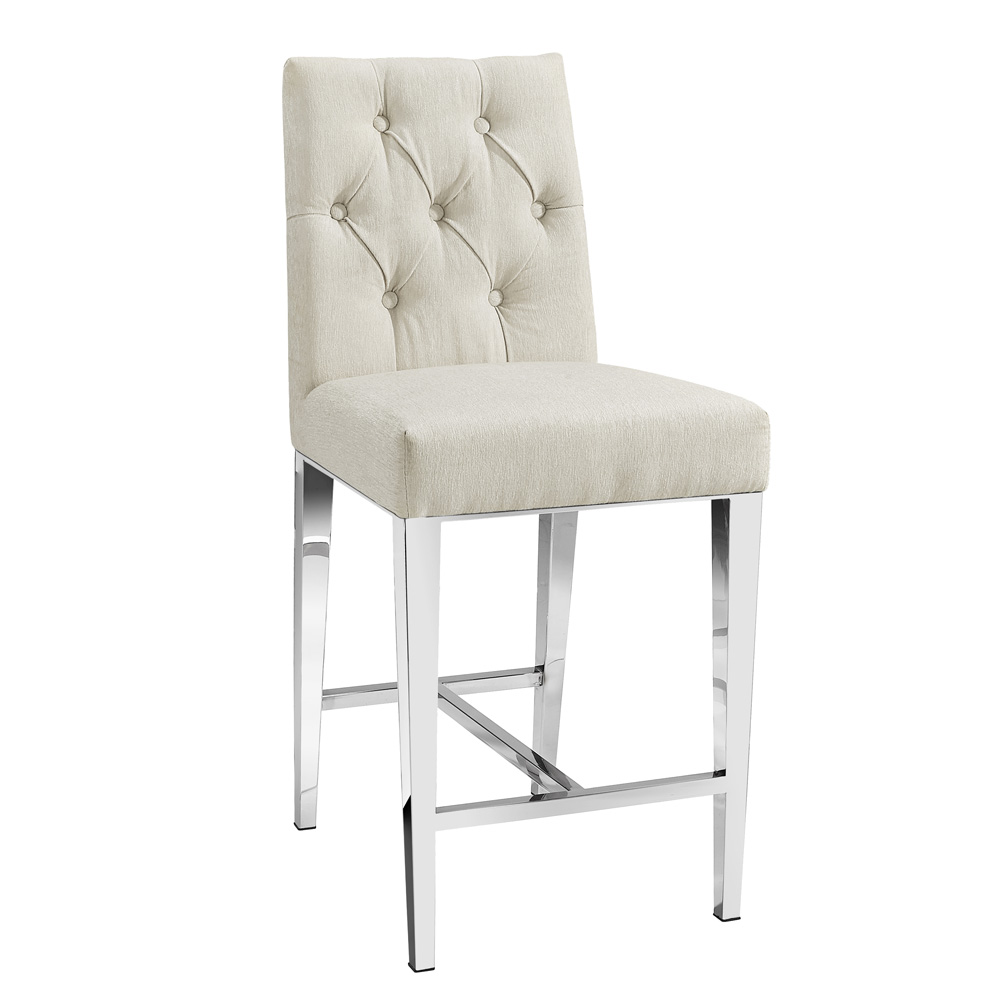 Leslie Elizabeth Pearl Counter Chair