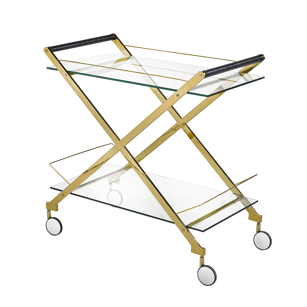 Bermuda Gold Bar Cart
