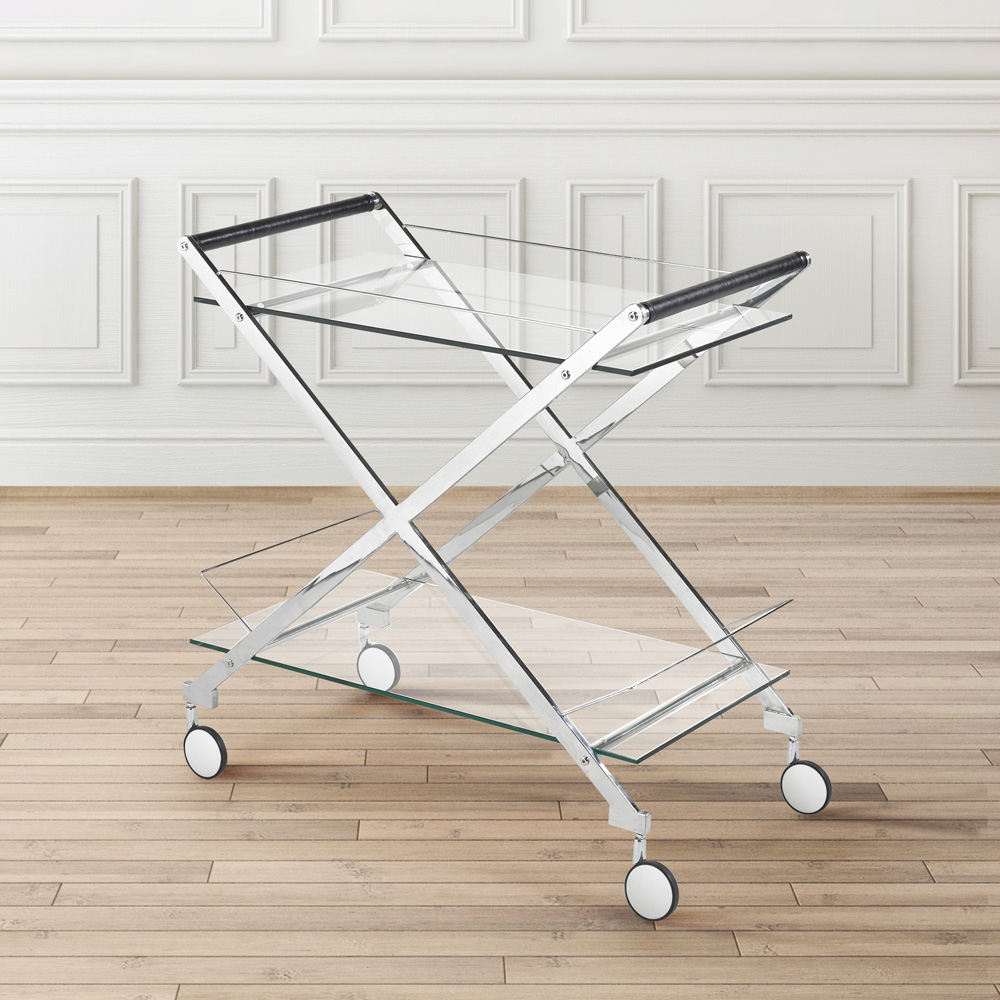 Bermuda Steel Bar Cart