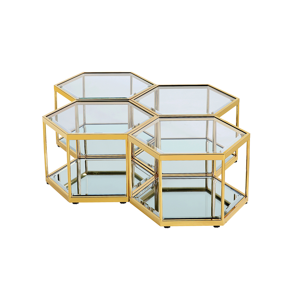 Swainson Gold Coffee Table