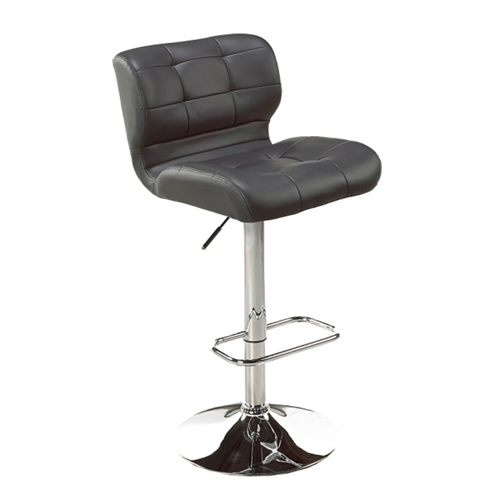 Fanta Grey Leatherette Adjustable Stool