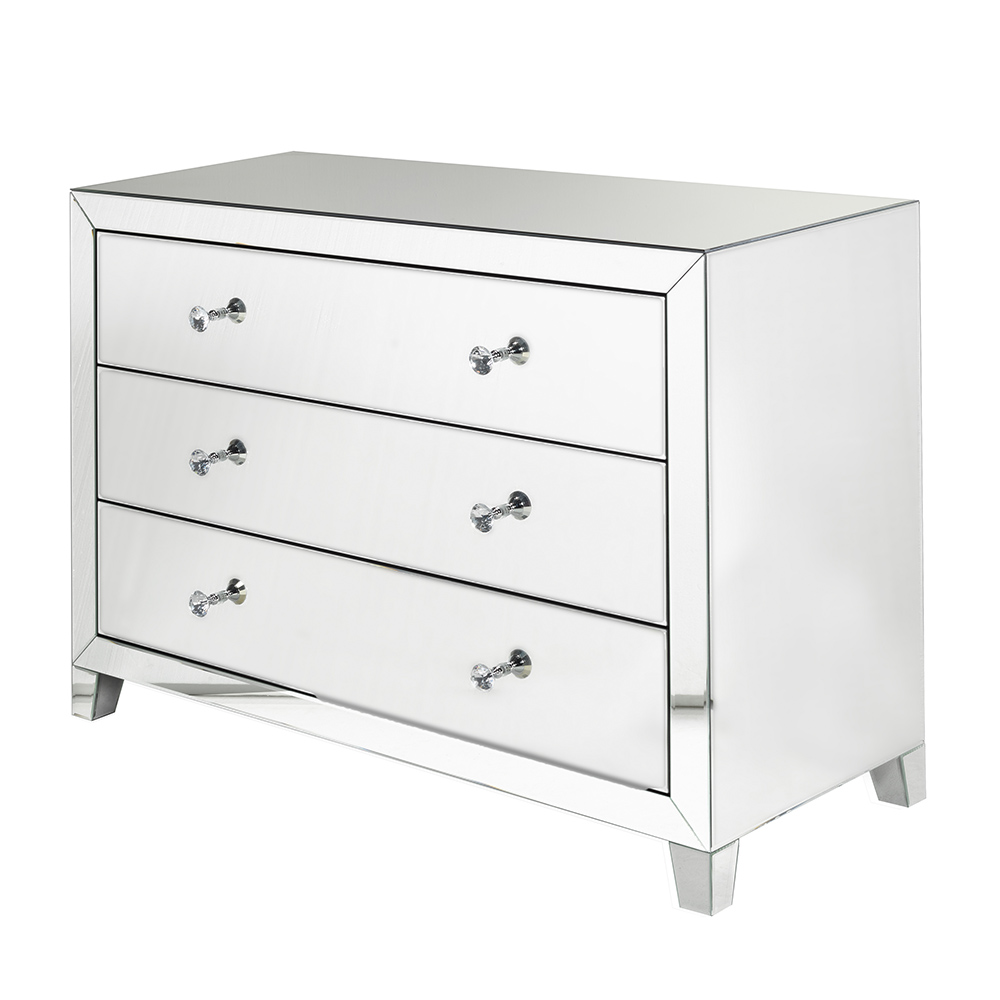 Clear Mirror Sideboard