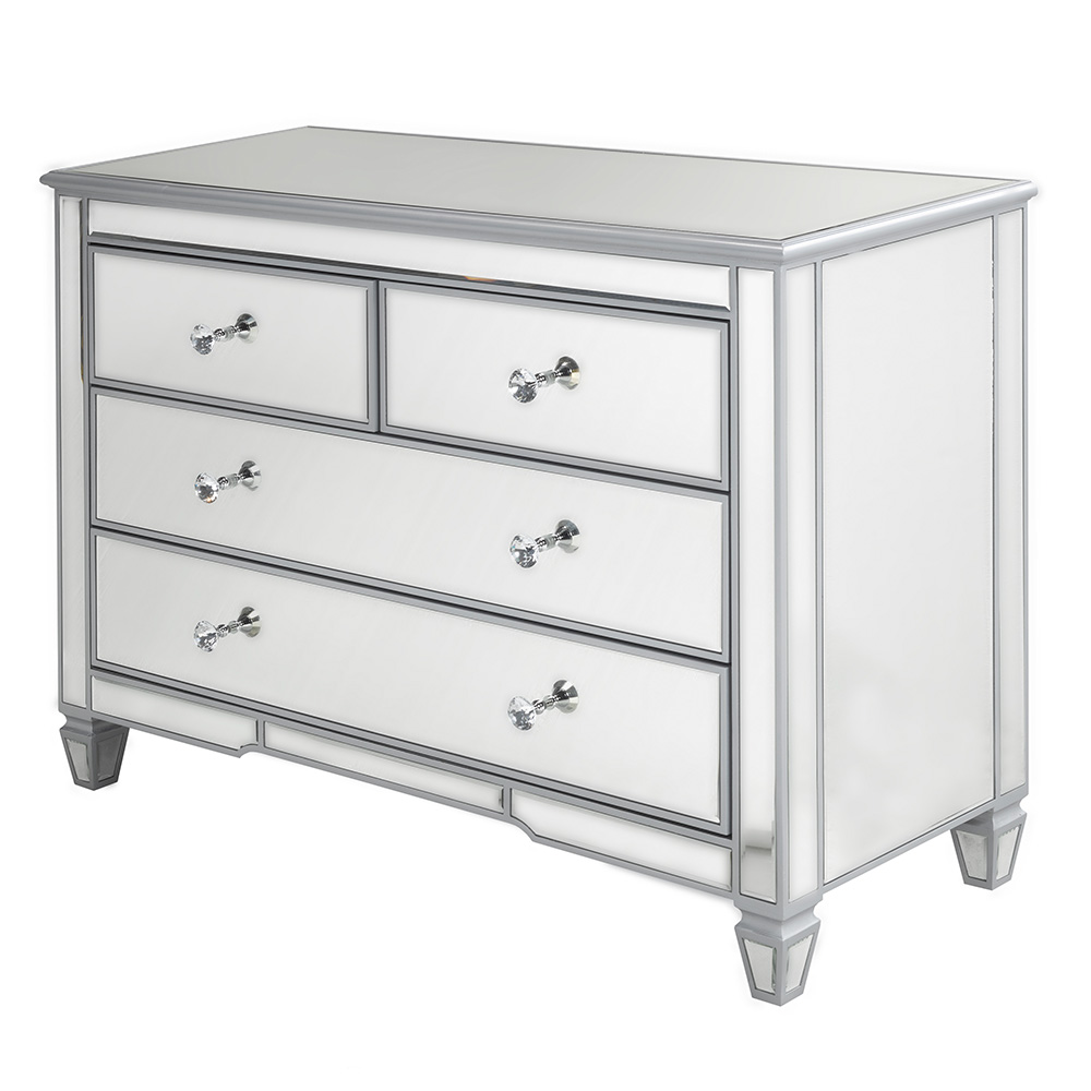 Mirror Sideboard 4 Drawer GY-12055L