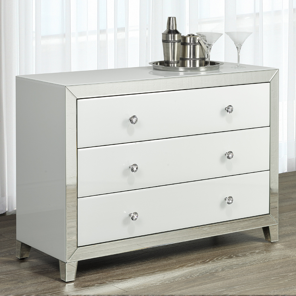 White Mirror Sideboard