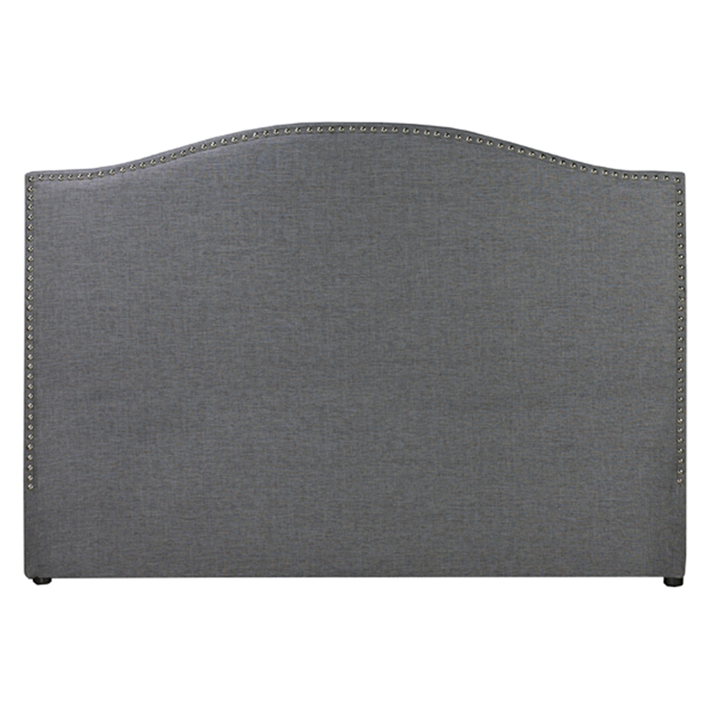 Jameson Slate Fabric Queen Headboard