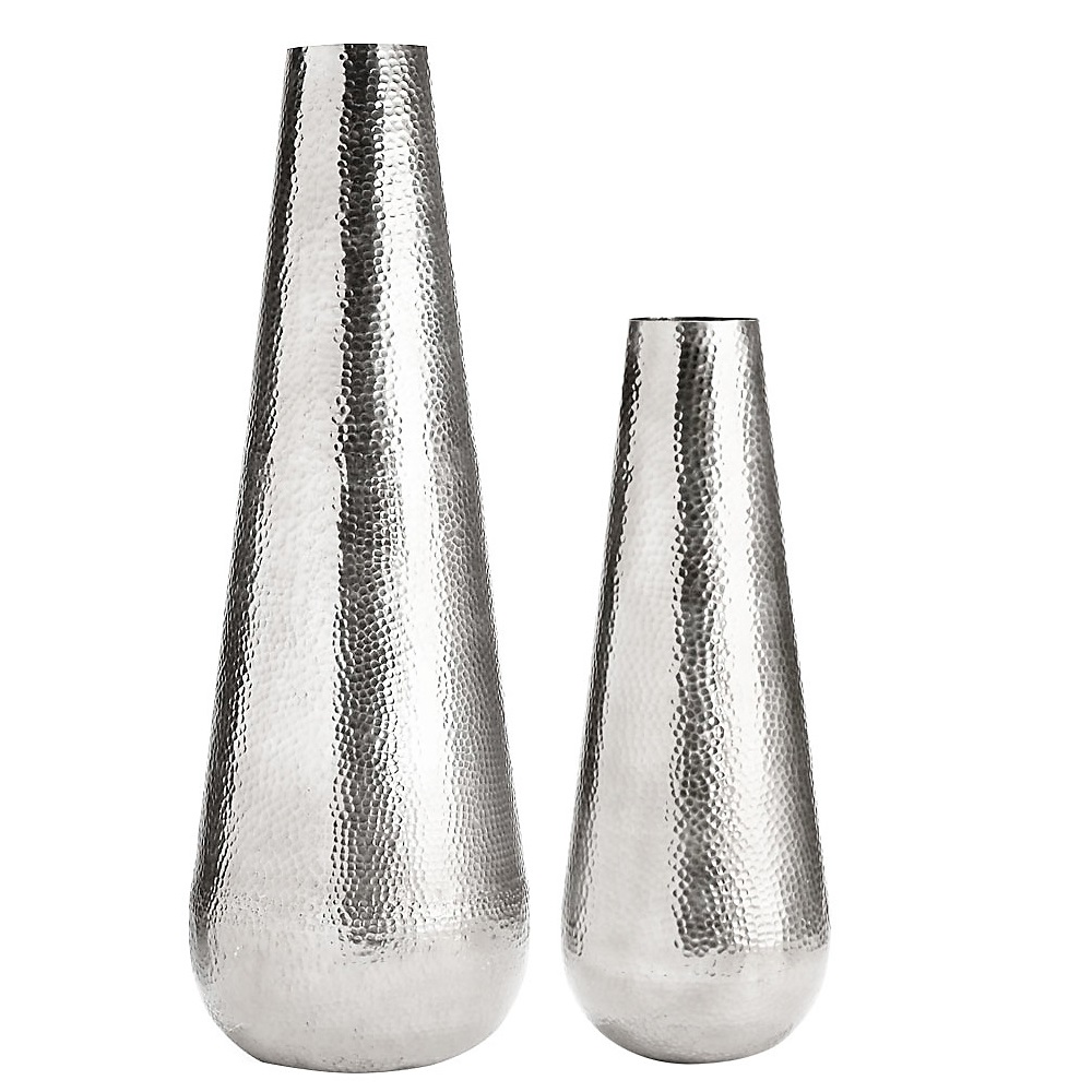 XC-22402/03-Silver-Vases
