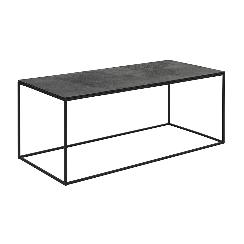 Black Aluminum Top Table