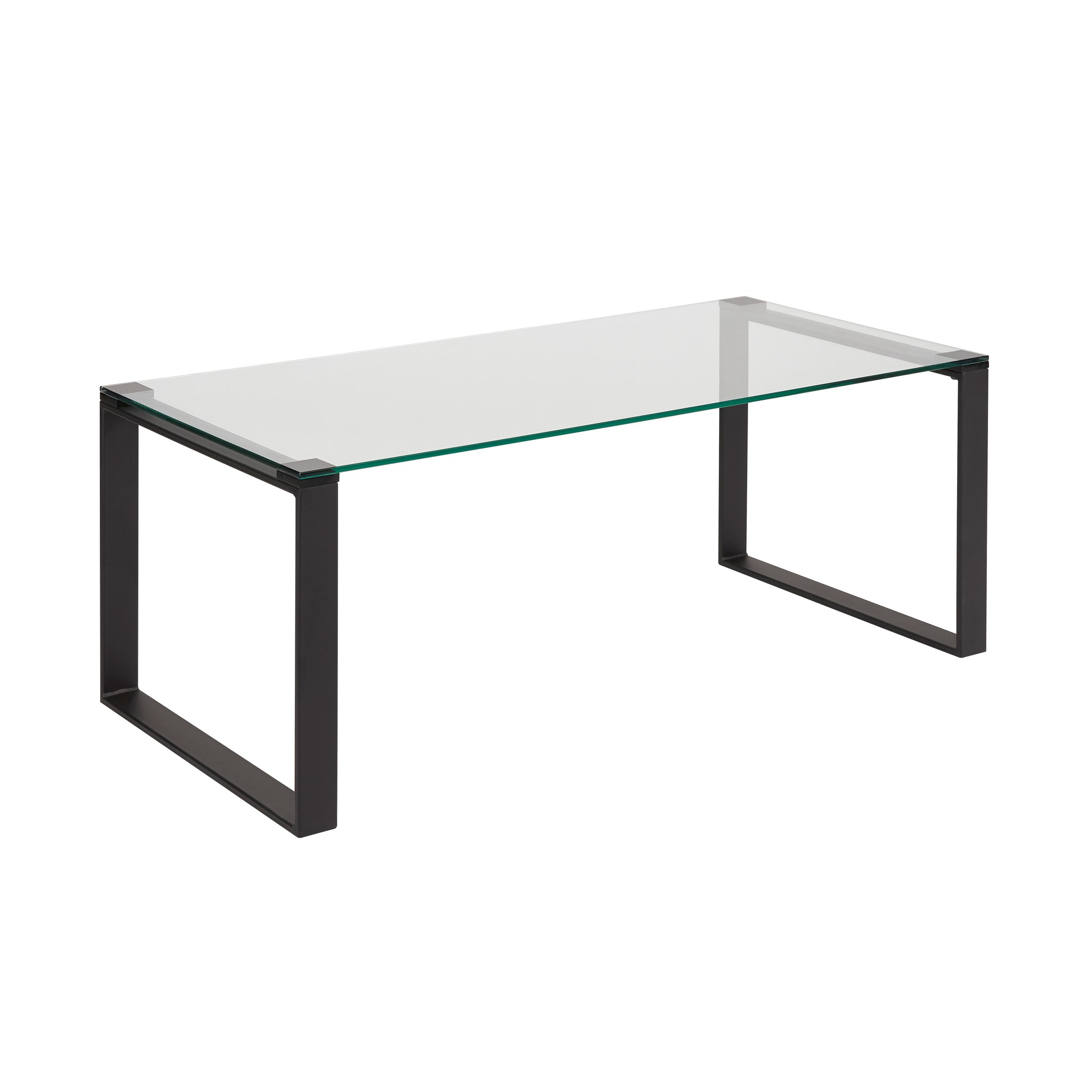 David Coffee Table Black Metal