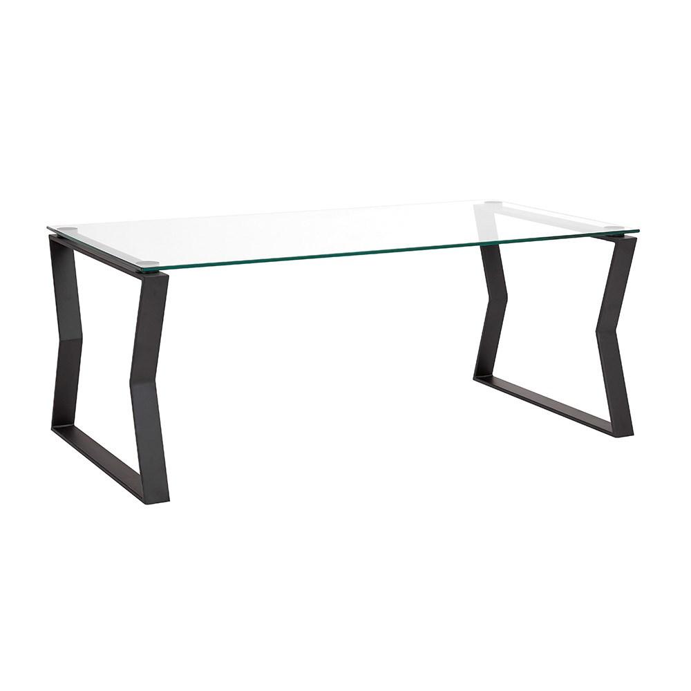 Noa Black Metal Coffee Table