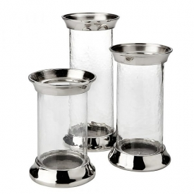 XC-11631 /32/33 Glass Candle Holder