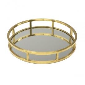 Round Gold Tray GY-1244G