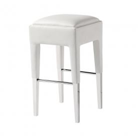 Peyton Counter Chair White PU