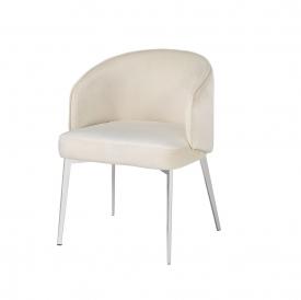 Silva Cream Velvet Chair