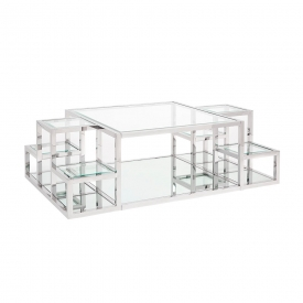 Elmore Coffee Table Silver