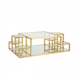 Elmore Coffee Table Gold