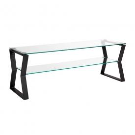 Noa Black Metal TV Table