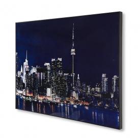 Toronto Skyline Acrylic Painting